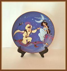Disney Aladdin Plate Bee Yourself  Bradford by bettysworld4u