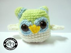 1500 Free Amigurumi Patterns: Whoobie Owl Pattern