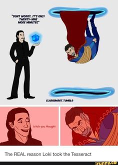 Picture memes 1 comment — iFunny The REAL reason Loki took the Tesseract – popular memes on the site memes 1 comment — iFunny The REAL reason Loki took the Tesseract – popular memes on the site The REAL reason Loki took the Tesseract Avengers Humor, Funny Marvel Memes, Marvel Jokes, Dc Memes, Marvel Dc Comics, Marvel Avengers, Loki Meme, Dr Stephen Strange, Dr Strange