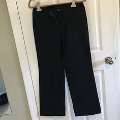 Jeans Dark color jeans good condition no damage size 6 straight leg Pants Straight Leg