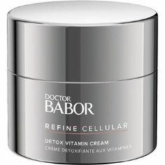 Facial care Doctor Babor Refine Cellular Detox Vitamin Cream 50 ml Vitamin A, Kosmetik Online Shop, Lotion, Peeling, Facial Care, Creme, Skin Care, Beauty, Products
