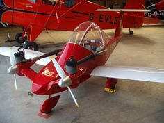 Check out this cool little homebuilt