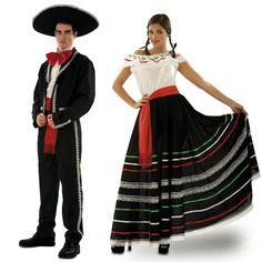 Pareja de Mariachis Lujo #parejas #disfraces #carnaval