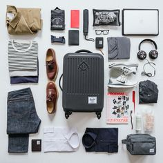 Herschel Supply: Travel far, Travel light.