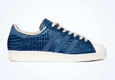 "adidas Superstar 80s ""Tribe Blue Snake"""