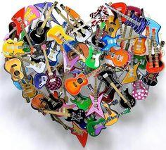 """#Música...☆ #Coração ♡ #ArteModerna ☆★☆★ """" Escultura em Metal """" Escultor : David Kracov"""