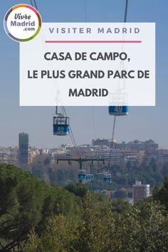 Le poumon de Madrid, le Casa de campo est véritable havre de paix et on peut également y faire des activités ! #visitermadrid.