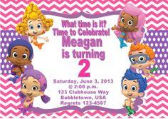 Guppy Invitation