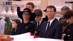 - Photo - Prince Henrik's funeral took place at Christiansborg Palace on Tuesday, with Danish royals including Queen Margrethe, Crown Prince Frederik and Princess Marie in attendance Denmark Royal Family, Danish Royal Family, Princess Athena Of Denmark, Queen Margrethe Ii, Danish Royalty, Royal Jewels, Daughter, Royal Families, Royals