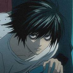 L Ryuzaki, Elle Lawliet, L Icon, Anime Manga, Anime Art, Death Note L, Animes Yandere, A Silent Voice, Emo Boys
