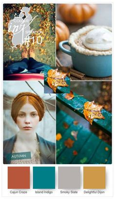 Gorgeous Teal and Copper Autumn Wedding Colour,wedding color teal copper fall wedding colors,orange and teal wedding palette,fall inspiration Fall Wedding Colors, Wedding Color Schemes, Teal Color Schemes, Orange Wedding, Teal Colors, Paint Colors, Gray Color, Kitchen Colour Schemes, Kitchen Colors