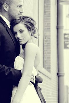 Love this shot of the bride