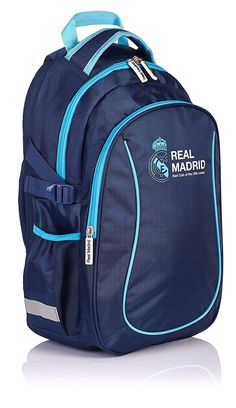 Real Madrid Madrid 3 Mochila Tipo Casual, 46 cm, 22 Liters, Azul (Navy Blue): Amazon.es: Equipaje Real Madrid, North Face Backpack, The North Face, Blues, Navy Blue, Backpacks, Casual, Awesome Backpacks, School Backpacks