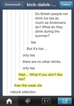 Funny pictures about British people and tea. Oh, and cool pics about British people and tea. Also, British people and tea. Funny Quotes, Funny Memes, Hilarious, Jokes, British Things, British People, Funny Tumblr Posts, My Tumblr, Jm Barrie