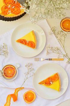 Entra a ver como hacer Tarta de panna cotta de naranja sanguina de manera fácil y detallada