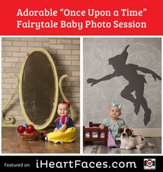 "Adorable ""Once Upon a Time"" Fairytale Baby Photo Session #photography #iheartfaces #fairytale #session #baby"