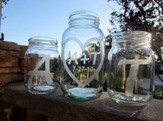 Hey, I found this really awesome Etsy listing at https://www.etsy.com/listing/102250102/mason-jars-sand-ceremony-personalized