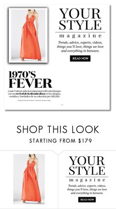 """""""Bright Poppy Kamala Tie Neck Halter BCBG Backless Dress"""" by susannelsone ❤ liked on Polyvore featuring Pussycat"""