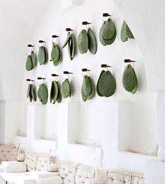 Resort With Hanging Cactus Leaves Interior Styling, Interior Decorating, Interior Design, Decorating Bedrooms, Decorating Tips, Cactus Leaves, Indoor Cactus, Cactus Plants, Spa Design