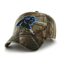 Camo Panthers hat