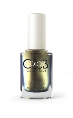 Cha-Ching! This gorgeous green-gold chrome lacquer will make your nails feel rich. Collection: Oil Slick Collection