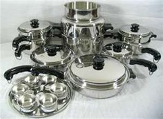 Salad Master Cookware.  Eat safe and be healthy. Frying and baking without oil is unbelievable.