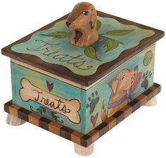 Sticks, Inc: Dog treats box--cute!