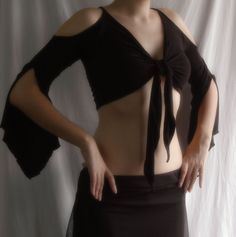 perfect wrap top by muse of the harlequin - i want!