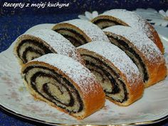 Klasický kakaový závin so zaujímavou kakaovou plnkou... Hungarian Recipes, Russian Recipes, Challa Bread, Czech Recipes, Ethnic Recipes, Cookie Recipes, Dessert Recipes, Strudel, Sweet Desserts