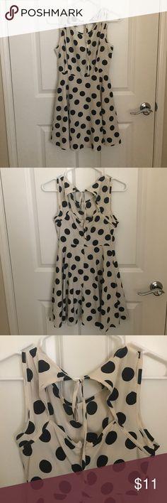 Polka dot dress Super cute. Tiny marks shown Forever 21 Dresses