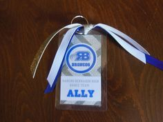 Dance Bag Tags Cheerleading luggage tags by ReginesPartyBoutique