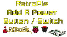 RetroPie Add A Power Button / Switch Raspberry Pi 1 2 3 Power Button, Arcade, Raspberry, Diy Projects, Buttons, Ads, Cabinet, Youtube, Clothes Stand