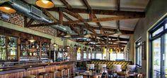 Gorgeous interior bar.