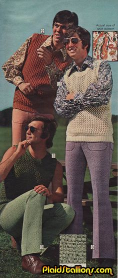 Crochet Gangstas. Terrorizing your mini-golf courses since 1973. Watch out because these are some really bad mutha--(shut yo mouth!)