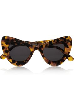 Illesteva  + Zac Posen ~ Cat eye tortoiseshell acetate sunglasses |
