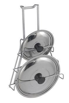 15€ Metaltex Galileo - Colgador de tapaderas, 36 x 9 x 26 cm