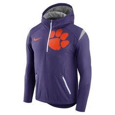 Nike™ Men's Clemson University Fly Rush Lightweight Jacket (Purple, Size X Large) - NCAA Licensed Product, NCAA Men's Fleece/Jackets at Academy Sports