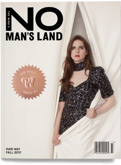 Model and actress Hari Nef takes the cover story of No Man's Land Magazine's first edition captured by fashion photographer Kathy Lo. Jd Samson, Wings Store, Hari Nef, Tavi Gevinson, Ingrid Michaelson, No Mans Land, Beautiful Cover, Covergirl, Landing