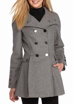 Calvin Klein Pleated Skirt Jacket