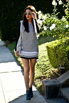 Shay Mitchell Style.. maybe with tights..a little too short for me