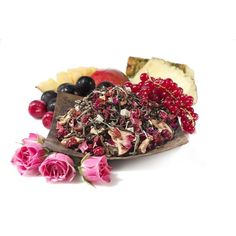 Teavana Youthberry Loose-Leaf White Tea, 4oz (16) is a delicate white tea gets its youthful blush from red currants, acai berry, hibiscus and rose petals. Candied pineapple and mango pieces mingle with Fuji and golden delicious apples in this sweetly timeless elixir.