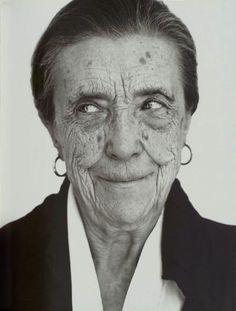 Louise Bourgeois -- painter, sculpter, fiber artist who began making art in her 70s.