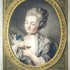 Ladies of 18th century France understood and appreciated the pleasures and medicinal purposes of hot chocolat!