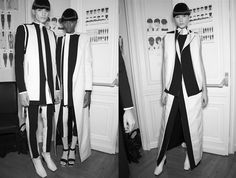Rad Hourani Unisex Spring 2013 Couture, Photography by L'express.fr
