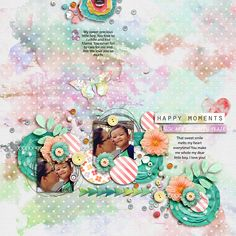 Second Shot | Vol.14 by Little Green Frog Designs Find Your Happy Place by Jenn Barrette and Juliana Kneipp http://www.sweetshoppedesigns.co...