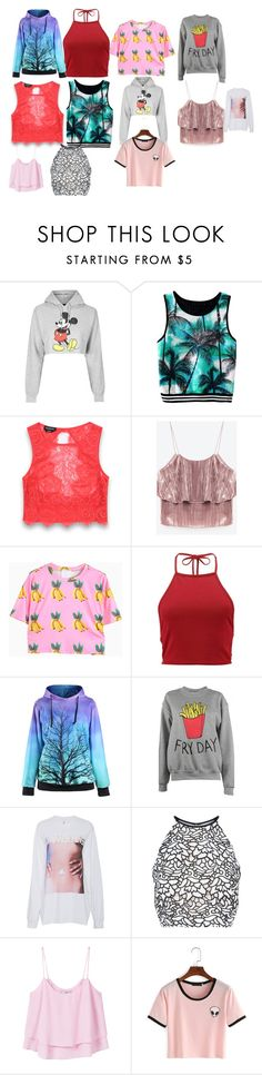 """""""all my fave shirts"""" by blindianbeauty on Polyvore featuring Topshop, Bebe, Boohoo, Adolescent Clothing, Adam Selman, Keepsake the Label and MANGO"""