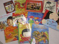 Chinese new year books