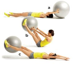This Stability Ball exercise is in my June program at Studio Kelani.