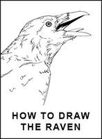 How to draw the Raven - in Eng by Elruu.deviantart.com on @deviantART