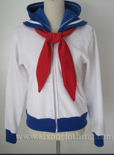Sailor moon jacket, is soo cute! ♥
